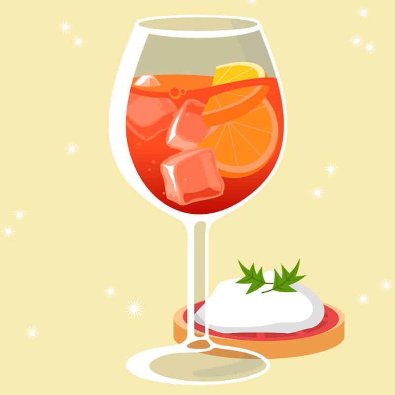 Les cocktails et aperitivo